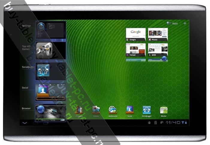 Acer Iconia Tab A501 64Gb