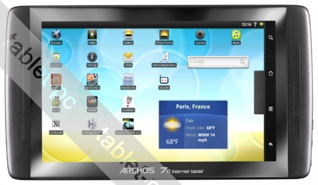 Archos (архос) 70 internet tablet 8Gb